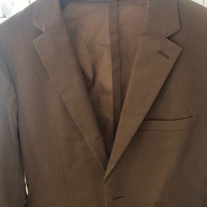 Theory men's suit 38r